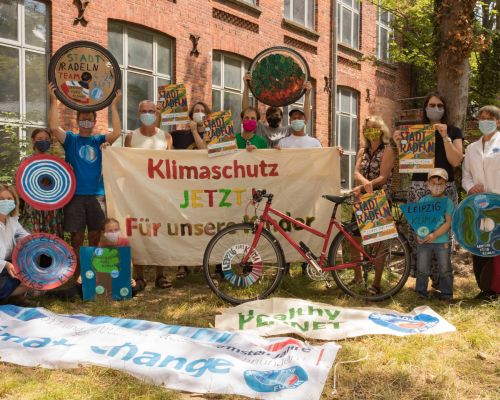 Stadtradeln-Team von Fridays for Future