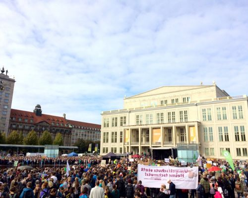 Globaler Klimastreik in Leipzig am 20. September 2019