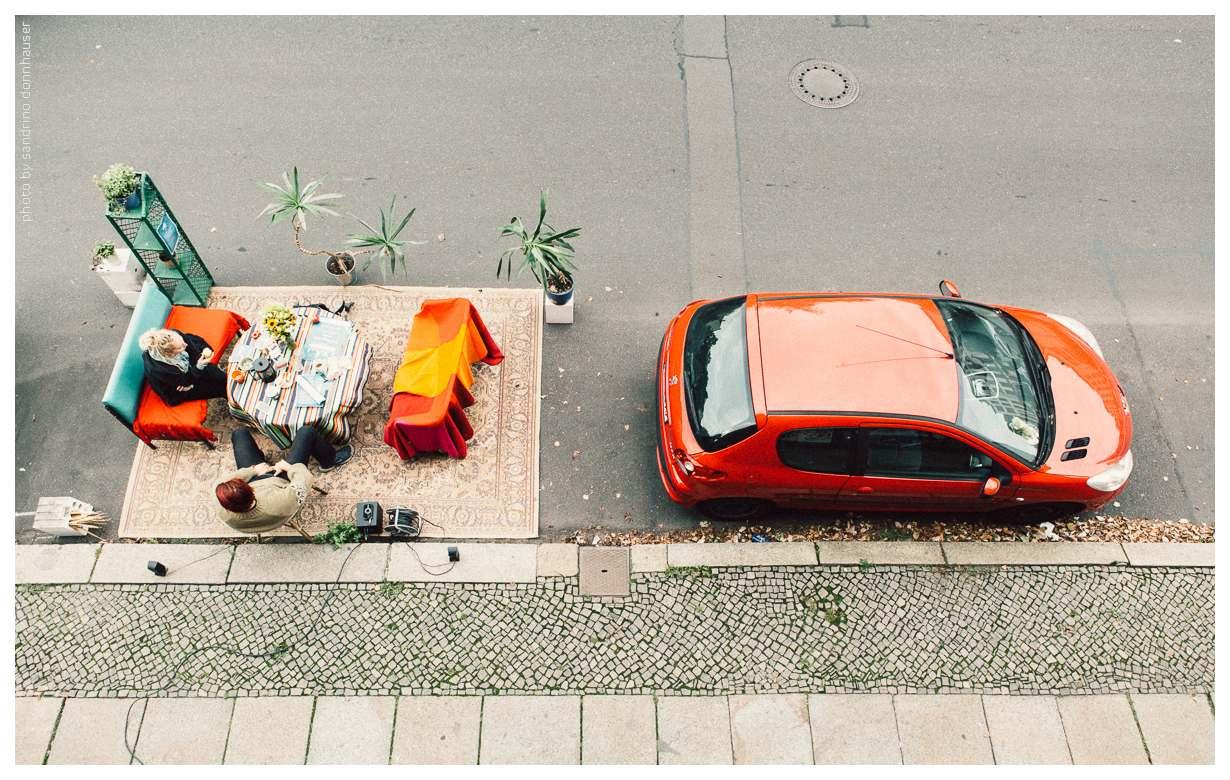 ParkingDay in der Grafenstraße @ Grafenstraße