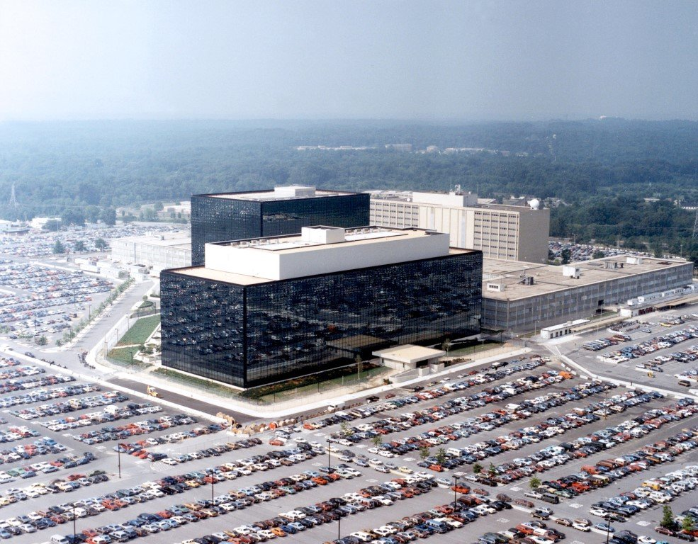 NSA-Gebäude in Maryland